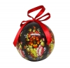 Christmas New Year Tree Decorative Ball Zhostovo