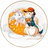 Decorative Wall Plate 2020 Year of RAT Mice Couple