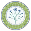 "Decorative Wall Plate Blue Cornflower 10.6""/270 mm Lomonosov Imperial Porcelain"