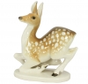 Deer Doe Lomonosov Imperial Porcelain Figurine