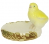Easter Chicken in the Nest Lomonosov Imperial Porcelain Figurine