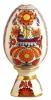 Easter Egg on Stand Bright Ornament Lomonosov Porcelain