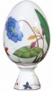 Easter Egg on Stand Sunny Flower Lomonosov Imperial Porcelain
