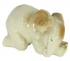 Elephant Baby Sleeping Lomonosov Imperial Porcelain Figurine