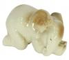 Elephant Baby Sleeping Lomonosov Imperial Porcelain Figurine