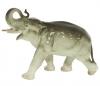 Elephant Running Lomonosov Imperial Porcelain Figurine
