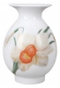 Flower Vase Birch Narcissus Lomonosov Imperial Porcelain