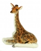 Giraffe Baby Figurine Lomonosov Porcelain