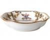 Lomonosov Imperial Porcelain Bone China Porcelain Jam Dish Natasha Fantastic Butterflies