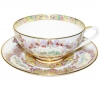Lomonosov Imperial Porcelain Bona China Cup and Saucer Dome Eden