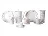 Lomonosov Porcelain Bone China Coffee Set My Happiness 10 items