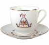 Lomonosov Imperial Porcelain Bone China Cup and Saucer Easter Meal