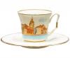 Lomonosov Imperial Porcelain Bone China Cup and Saucer Yulia Petersburg