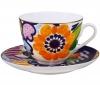Lomonosov Imperial Porcelain Bone China Tea Set 2 pc Bouquet for Anna Spring-2