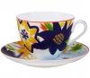Lomonosov Imperial Porcelain Bone China Tea Set 2 pc Bouquet for Maria Spring-2
