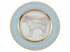 Lomonosov Porcelain Decorative Wall Plate Husky Dog