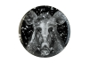 Lomonosov Porcelain Decorative Wall Plate Totem Animal Wild Boar 11.8 in 300 mm