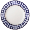 Lomonosov Imperial Porcelain Dessert Plate Cobalt Cell Cake Tulip