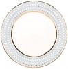 """Lomonosov Imperial Porcelain Dinner Plate Azur Blue v.1 10.6""""/270 mm"""