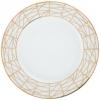 """Lomonosov Porcelain Dinner Plate Frosty Fairytale 9.8""""/250 mm"""