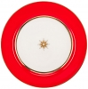 Lomonosov Imperial Porcelain Dinner Plate Scarlet 7.9 in 200 mm