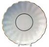 "Lomonosov Imperial Porcelain Pastry Dish Cake Cookie Biscuit Snow White Tulip  8.5"""