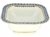 Lomonosov Imperial Porcelain Cobalt Net Salad Bowl (2 serv.) 12 oz / 350 ml