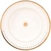 """Lomonosov Imperial Porcelain Soup Dinner Plate Azur Golden 9.3""""/235 mm"""