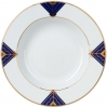 Lomonosov Imperial Porcelain Soup Plate Kalevala 8.9 inches 225 mm