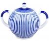 Lomonosov Imperial Porcelain Sugar Bowl Tulip Frenchman