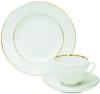 Lomonosov Imperial Porcelain Tea Cup Set 3pc Spring Snow White 7.8 oz/230 ml