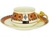 Lomonosov Imperial Porcelain Tea Cup and Saucer Bilibina Vasilisa Fairytale 6 oz/180 ml