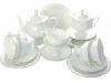 Lomonosov Imperial Porcelain Tea Set Service Natasha Golden Ribbon 20 pc