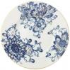 "Lomonosov Imperial Porcelain Dinner Plate Smooth Singing Garden Flat 7.9""/200 mm."