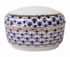 Lomonosov Imperial Porcelain Porcelain Treasure Jewellery Box Cobalt Net