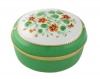 Lomonosov Imperial Porcelain Treasure Jewellery Oval Box Nasturtium
