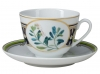 Lomonosov Imperial Porcelain Tea Cup Set Spring Foxberry 7.8 oz/230ml