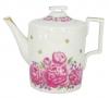 Lomonosov Imperial Porcelain Tea Pot Romantic Date 20.3 fl.oz/600 ml