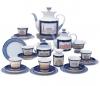 Lomonosov Imperial Porcelain Tea Set Classic of Petersburg 6/20