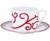 Lomonosov Imperial Porcelain Tea Set Cup and Saucer Solo Red Reindeer 10.1oz/300 ml