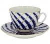 Lomonosov Imperial Porcelain Tea Set Cup and Saucer Spring Todes 7.8 oz/230 ml