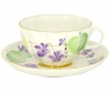 Lomonosov Imperial Porcelain Tea Set Cup and Saucer Tulip Forest Violet 8.5 oz/250 ml
