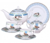 Lomonosov Imperial Porcelain Tea Set 20 items Ducks in Backwater