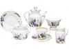Lomonosov Imperial Porcelain Tea Set Iris 6/20