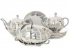 Lomonosov Imperial Porcelain Tea Set Tulip Moonlight 6/21