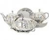 Lomonosov Imperial Porcelain Tea Set Tulip Moonlight 6/21
