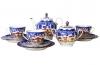 Lomonosov Imperial Porcelain Tea Set Winter Fairytale 6/20