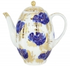 Lomonosov Imperial Porcelain Tea/Coffee Pot Golden Garden 8-Cup 40 oz/1200 ml