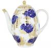 Lomonosov Imperial Porcelain Tea/Coffee Pot Golden Garden 8-Cup 40 oz/1200 ml
