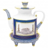 Lomonosov Imperial Porcelain Teapot Banquet Classic of Petersburg 75.1 fl.oz/2220 ml